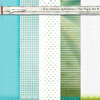 Paper Kit #1 Les Rêveries Ephéméres © Les Idées Nomades