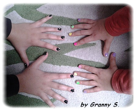 ongles filles