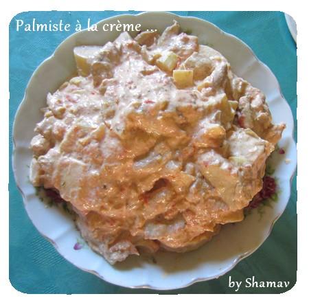 palmiste à crème