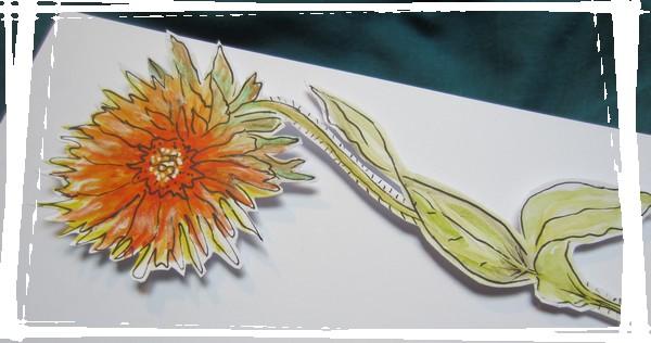 fleur decoup