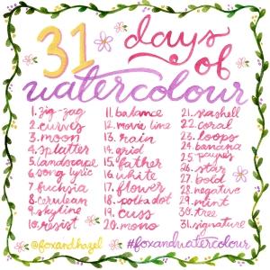 may watercolour