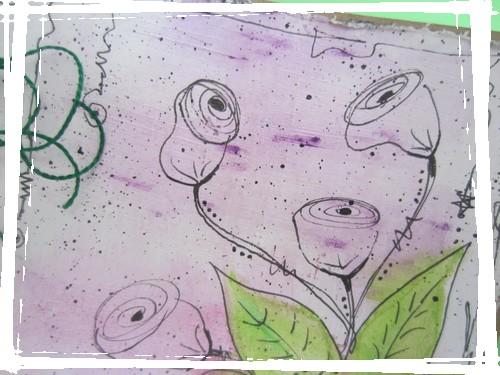 fleurs carte mimi