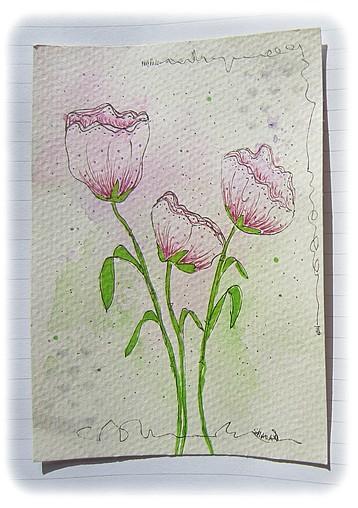 trio-rose